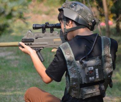 Softguns & hardball til børn
