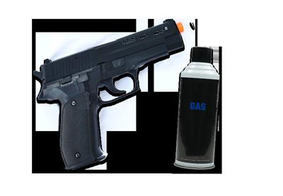 gas hardball våben