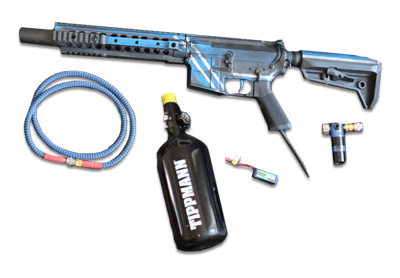 Hardball hpa våben, pakke